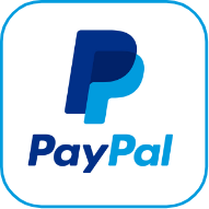 paypa logo in blue
